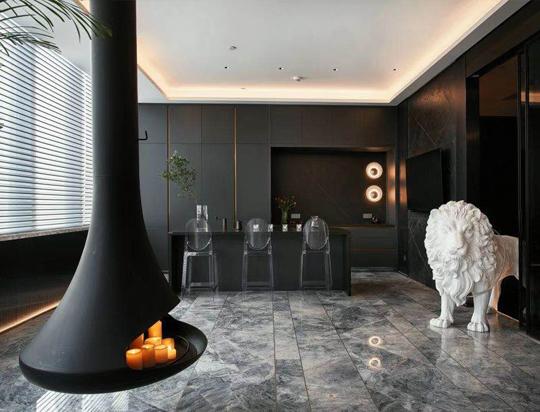 上海力设计公司上海展厅